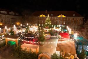 Weihnachtsmarkt Wernigerode Märchenwald am Nikolaiplatz