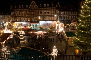 Weihnachtsmarkt Wernigerode Marktplatz